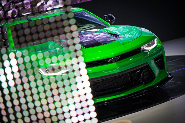 Genève : Chevrolet Camaro Track Concept