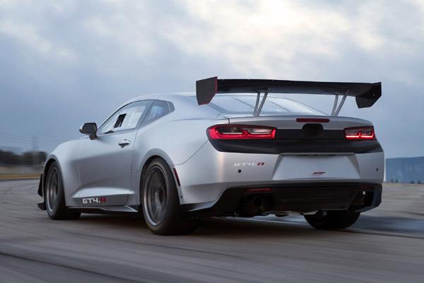 Chevrolet Camaro GT4.R : prête pour la piste
