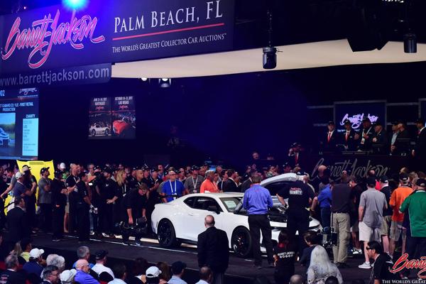 La première Camaro ZL1 1LE vendue 250 000 $