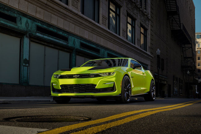SEMA : concept Chevrolet Camaro SS Shock