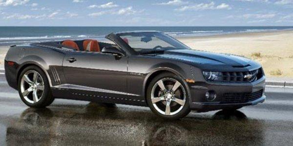 Chevrolet dévoile la Camaro Cabriolet