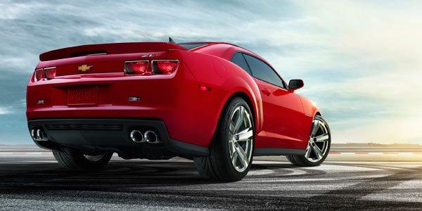 Chevrolet Camaro : les tarifs
