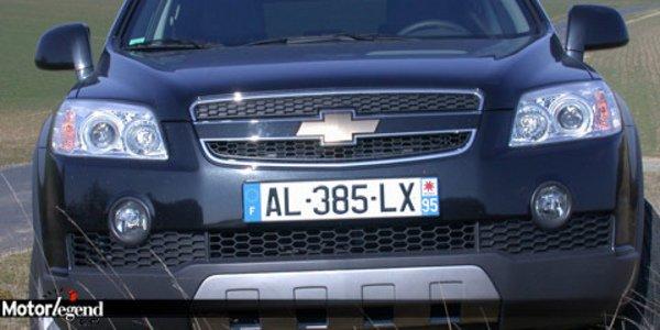 Chevrolet Captiva, des allures de 4x4