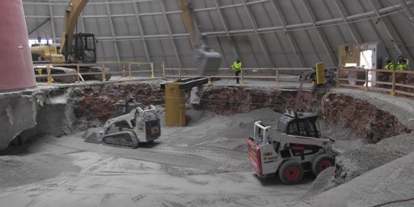 Sinkhole : les travaux du Corvette Museum progressent