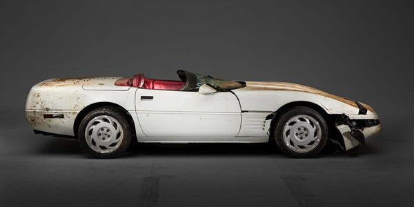 Sinkhole : la 1 000 000ème Corvette restaurée