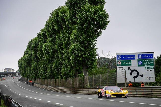 Le Mans : Larbre Competition en ordre de marche
