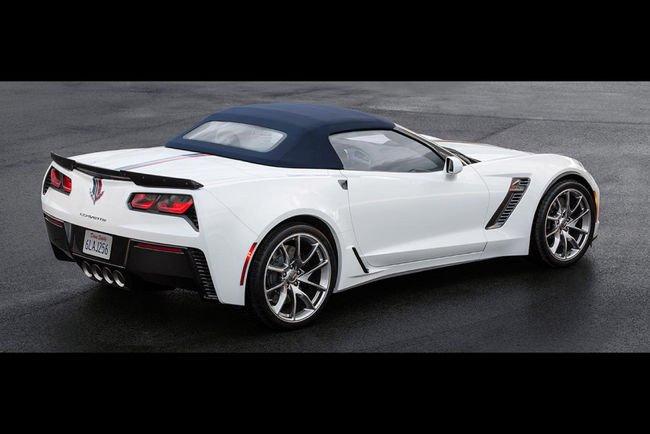 Trois éditions spéciales pour la Corvette C7 Stingray