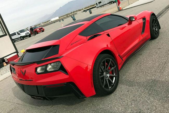 La Callaway Corvette C7 Break de chasse en approche
