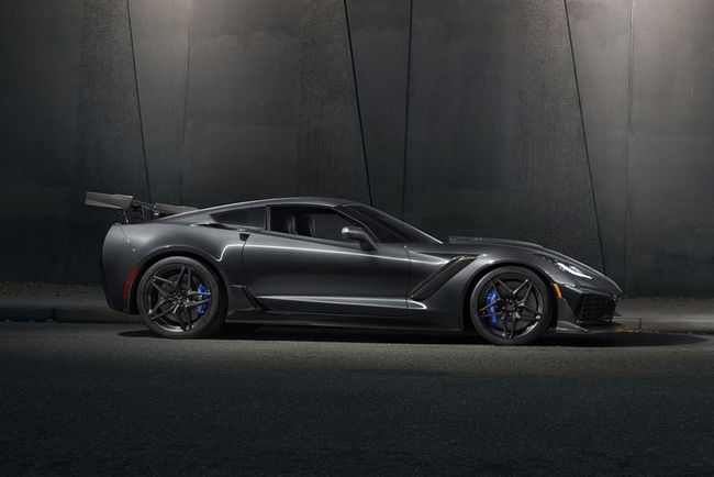 Chevrolet Corvette ZR1 : les performances