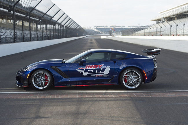 La Corvette ZR1 pace-car de l'Indy 500