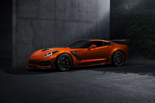 Chevrolet Corvette ZR1 : plus de 340 km/h en pointe