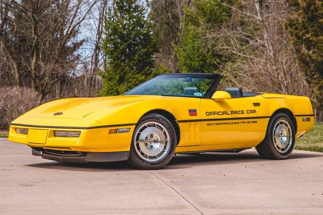 Mecum : les Corvette Pace Car d'Indy 500 aux enchères