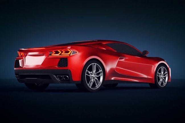 Nouvelle Chevrolet Corvette C8 : comme ça ?