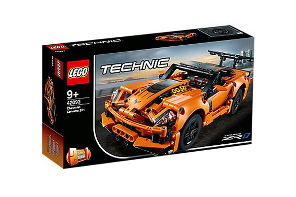 Chevrolet Corvette ZR1 Lego Technic