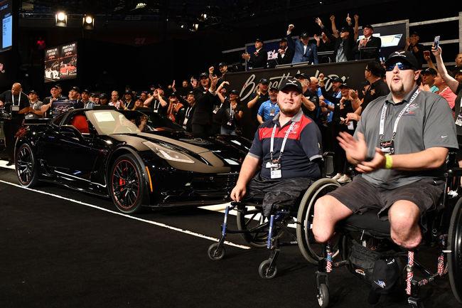 La dernière Corvette C7 vendue 2.7 millions de dollars