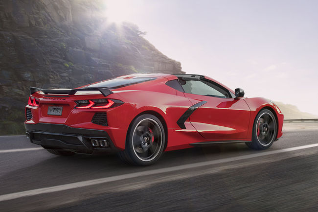 Chevrolet Corvette Stingray 2020 : accessible à moins de 60 000 $