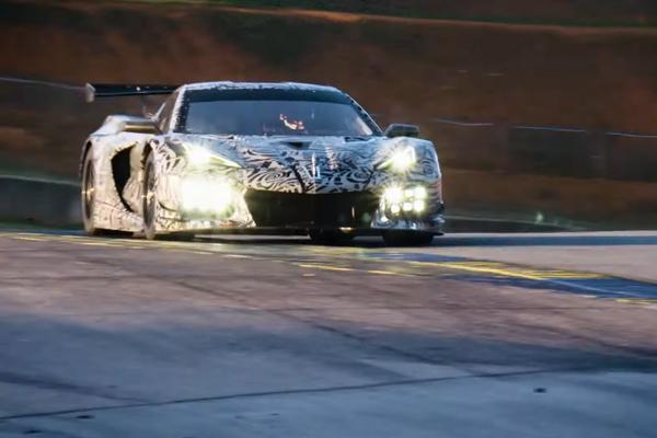 Vidéo teaser pour les futures Corvette Stingray Spider et C8.R