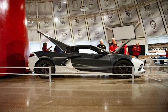 Une Corvette Stingray spéciale pour le National Corvette Museum
