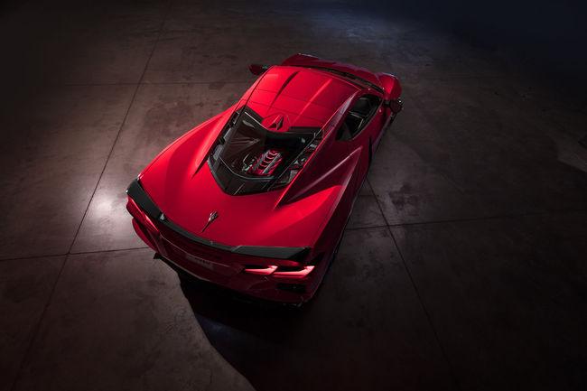 Le première Corvette Stingray 2020 sera vendue aux enchères