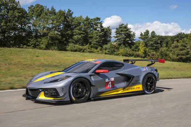 Corvette C8.R : avec un V8 de 500 ch