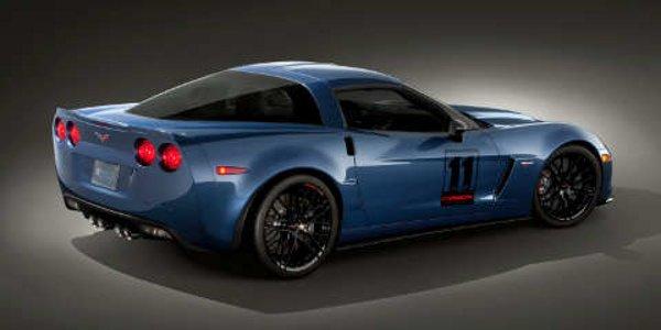 Une Corvette Z06 Carbon aux enchères