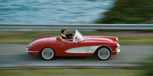 Corvette 1959, cadeau pour Johnny Depp