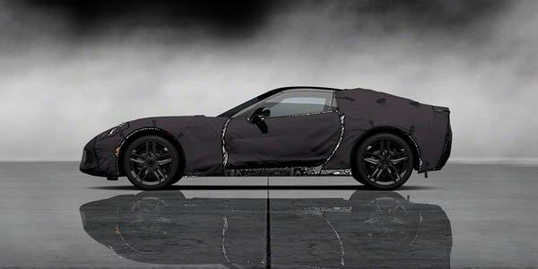 Corvette C7 à l'essai dans Gran Turismo