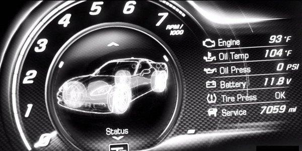 Nouveau teaser pour la Corvette C7