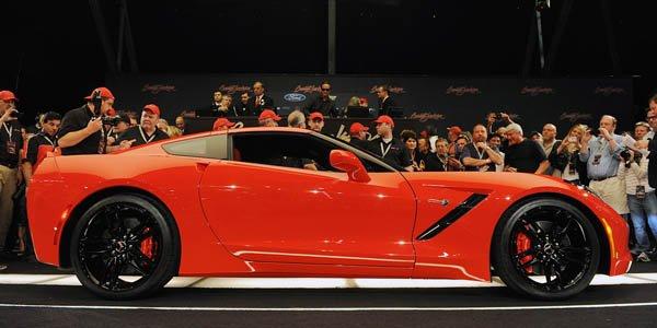La première Corvette C7 aux enchères