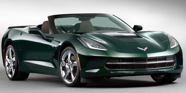 Une Corvette Stingray Première Edition