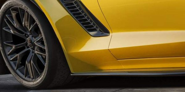 La Chevrolet Corvette Z06 à Detroit 2014