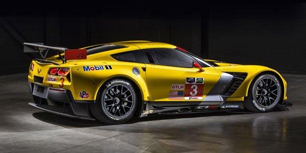 Détroit 2014 : Corvette C7.R