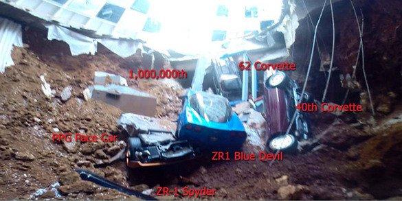Sinkhole: la restauration des Corvette repoussée