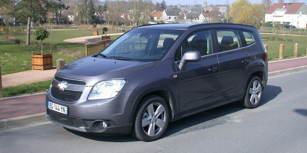 chevrolet orlando un 7 places lowcost actualit. Black Bedroom Furniture Sets. Home Design Ideas
