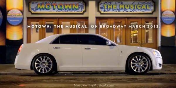 """La Chrysler 300 célèbre """"Motown"""""""