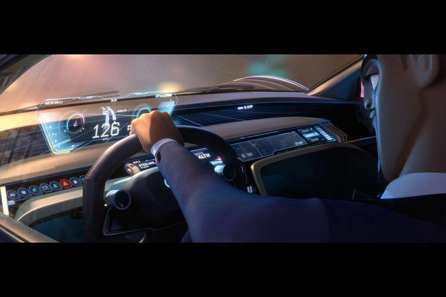 Le concept Audi RSQ e-tron bientôt sur grand écran