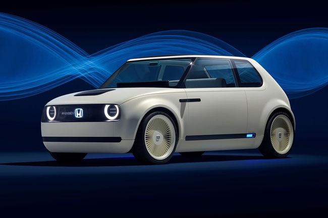 Genève : un teaser pour la citadine électrique de Honda