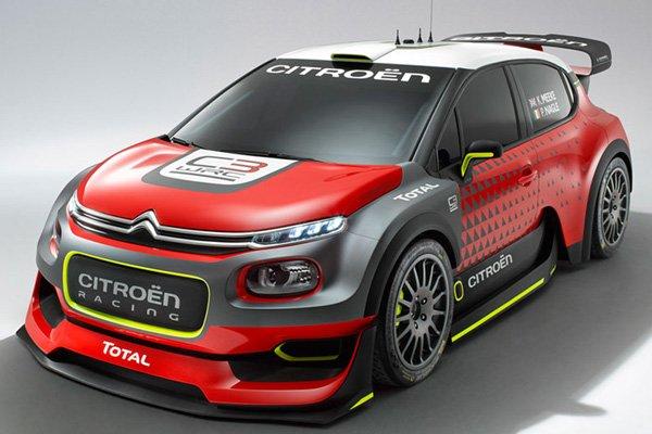 Citroën dévoile son concept C3 WRC