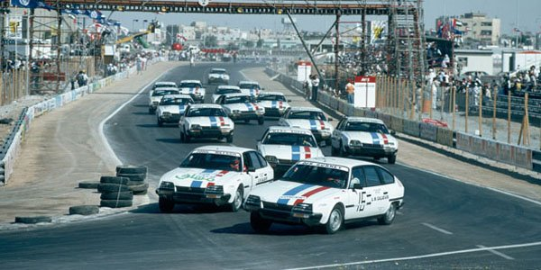 GP de Dubaï 1981 : la Citroën CX Celebrity Race