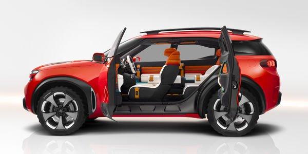 Citroën dévoile son concept Aircross au salon de Shanghai