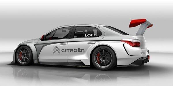WTCC : S.Loeb en Citroën C-Élysée