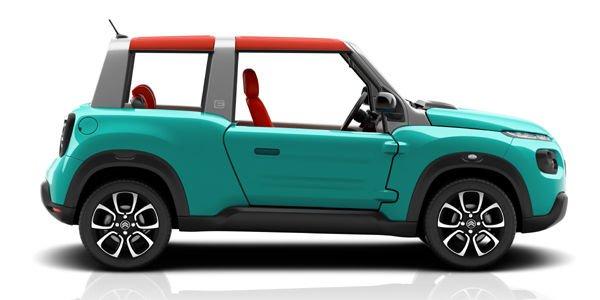 Citroën E-Méhari, pour le printemps 2016