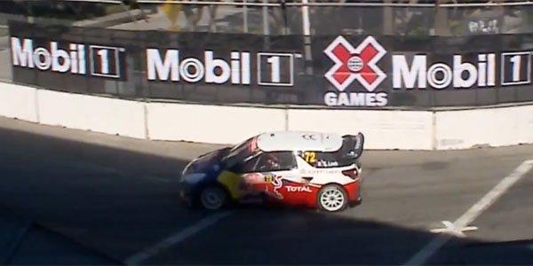 Sébastien Loeb s'impose aux X Games