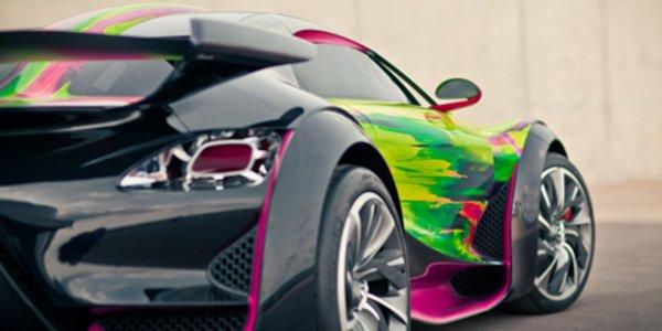 Citroën s'essaye à l'Art Car