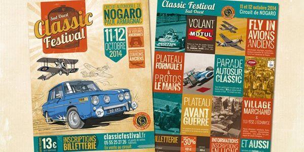 Première édition du Classic Festival à Nogaro
