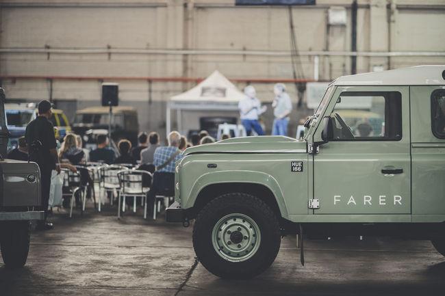 Land Rover Legends Show au Bicester Heritage