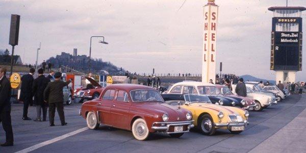 Des clichés du Nürburgring en 1967