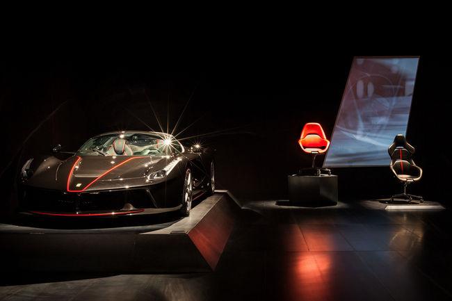 Cockpit : le siège de bureau par Ferrari