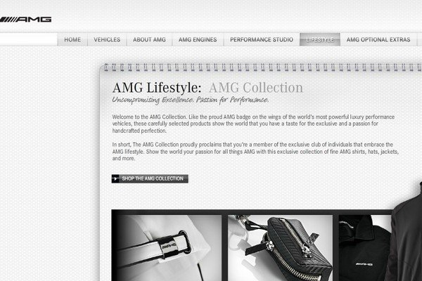 mercedes amg manque mod le accessoires catalogue motorlegend. Black Bedroom Furniture Sets. Home Design Ideas