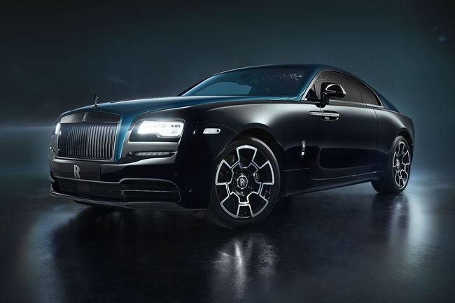 Nouvelle collection Rolls-Royce Black Badge Adamas